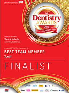 FINALIST - Best Team Member